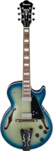 Ibanez George Benson Gb10em-jbb Jet Blue Burst