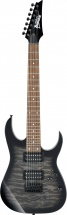 Ibanez Gio Grg7221qa-tks Transparent Black Sunburst