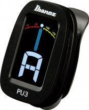 Ibanez Clip Chromatic Tuner Tuners Pu3-bk Black
