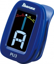 Ibanez Clip Chromatic Tuner Tuners Pu3-bl Blue