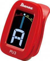 Ibanez Clip Chromatic Tuner Tuners Pu3-rd Red