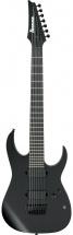 Ibanez Iron Label Rgixl7-bkf Black Flat