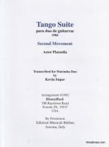 Tango Suite Mov't Ii - Vibraphone And Marimba