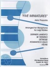 Piazzolla A. - Five Miniatures - Marimba