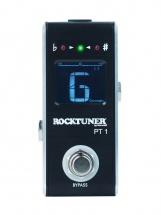 Rockgear Rocktuner Pt 1 - Pedale Accordeur Chromatique - Black