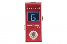 Rockgear Rocktuner Pt 1 - Pedale Accordeur Chromatique - Crimson Red