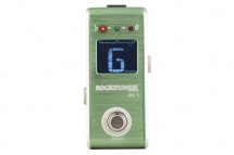 Rockgear Rocktuner Pt 1 - Pedale Accordeur Chromatique - Green Apple