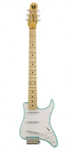 Traveler Guitar Guitare De Voyage Type Stratocaster - Surf Green
