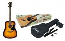 Ibanez V50njp-vs Jam Pack - Sunburst - Avec Kit Accessoires