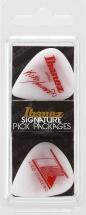 Ibanez  Pick Kiko Loureiro Signature B1000kl-wh White X6