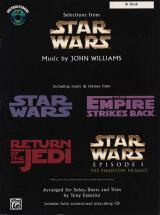 Williams John - Star Wars Selections + Cd - Bb Instruments And Piano