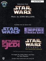 Williams John - Star Wars Selections + Cd - C Instruments With Piano