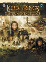 Shore Howard - Lord Of The Rings + Cd - Violin And Piano