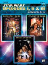 Williams John - Star Wars Episodes I-iii + Cd - Trombone And Piano