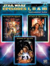 Williams John - Star Wars Episodes I-iii + Cd - Cello Solo