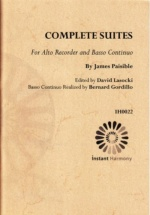 Paisible James - Complete Suites - Alto Recorder And Continuo