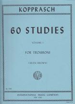 Kopprasch C. - 60 Studies Vol.1 For Trombone