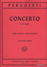 Pergolese - Concerto In G Major - Flute & Piano