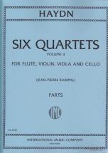 Haydn J. - Quartetti (6) Vol. 2 (fl., Vn, Va, Vc) - Parties