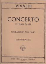 Vivaldi Antonio - Concerto In F Major Rv 489