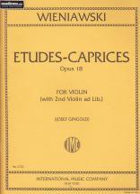 Wieniawski - Etudes-caprices Op.18