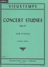 Vieuxtemps Henri - Concert Studies Op.16
