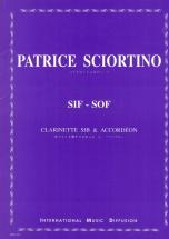 Sciortino P. - Sif-sof - Clarinette Sib/accordeon