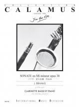 Brahms J. - Sonate Op.38 Mi Mineur - Clarinette Basse and Piano