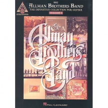 Partition Variete - Allman Brothers Band - Definitive Collection Vol. 1 - Guitare Tab