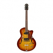 Guitare Electrique Godin 5th Avenue Cw Kingpin Ii - Cognac Burst