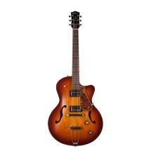 Godin 5th Avenue Cw Kingpin Ii Hb Cognac Burst