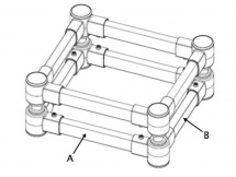 Isoacoustics Iso-l8r200sub (unite)