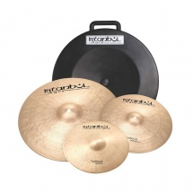 Istanbul Agop Traditional Set - Pack 3 Cymbales Serie Traditional Medium - Hh14 + Crash 16 + Ride 20 - Avec Etu