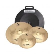 Istanbul Agop Xist Power Brilliant Set - Pack 3 Cymbales Serie Xist Power Brilliant - Power Hh14 + Power Crash 16