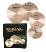 Istanbul Mehmet Traditional - Pack Cymbales 14 - 16 - 18 - 20 + Housse