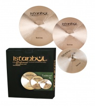 Istanbul Mehmet Traditional - Pack Cymbales 14 -16 -20 + Housse