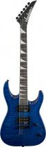 Jackson Js32tq Dinky Quilt Maple Arch Top Hardtail Rw Trans Blue