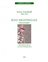 Schulhoff Erwin - Bass Nightingale - Contrebasson