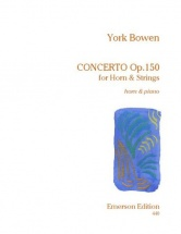 Bowen York - Concerto Pour Cor Op.150 - Cor and Piano