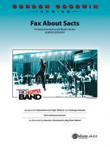 Goodwin Gordon - Fax About Sacts - Saxophone Ensemble