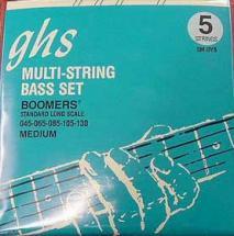 Ghs Boomers 5 Cordes Medium 45 65 85 105 130