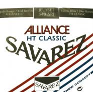 Savarez 540arj Alliance Rouge/bleu Tirant Normal/fort
