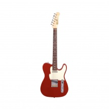 Fret King Green Label C/squire Classic Candy Apple Red