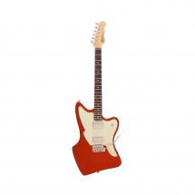 Fret King Green Label Ventura 80 Candy Apple Red