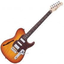 Fret King Black Label Country Squire Semi Tone Deluxe Honeyburst