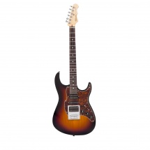 Fret King Black Label Super Hybrid Guitar Original Classic Burst