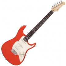 Fret King Black Label Corona Sp Guitar Firenza Red