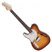 Vintage Guitars Lv72ftb Flame Tobacco Burst