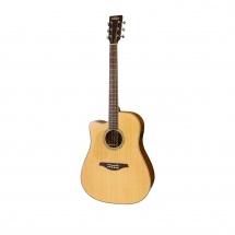 Vintage Guitars Lvec501n Satin Natural With Usb