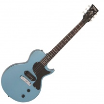 Vintage Guitars V120ghb Single Cut Gun Hill Blue